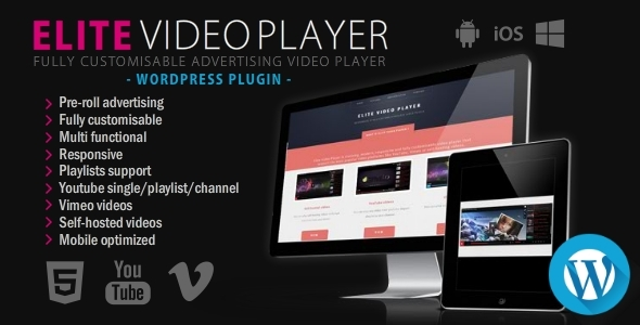 Elite Video Player Features
