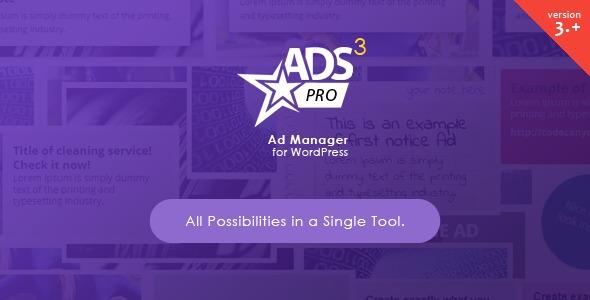 Ads Pro Plugin Features