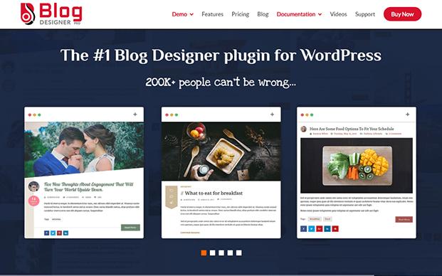 Features of Blog Designer PRO