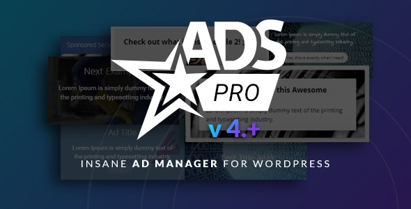 How Ads Pro Plugin works