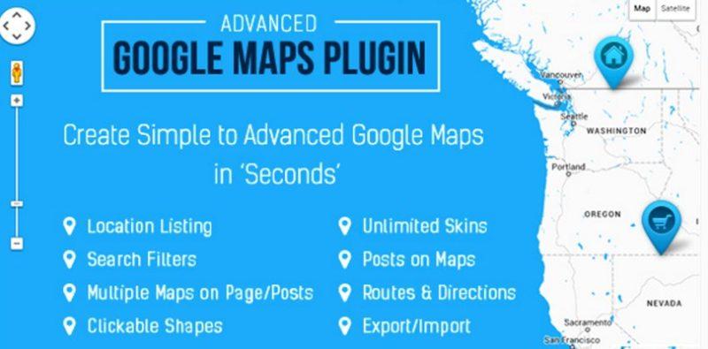 How Advanced Google Maps Plugin works