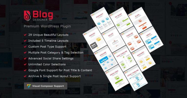 How Blog Designer PRO works