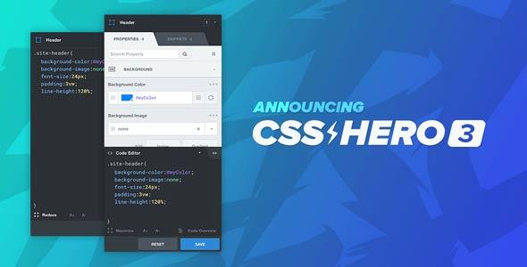 How CSS Hero PRO works