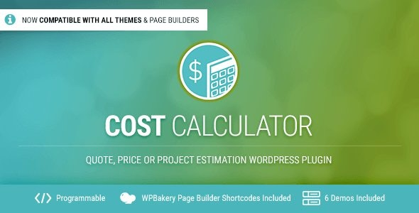 How Cost Calculator by BoldThemes works