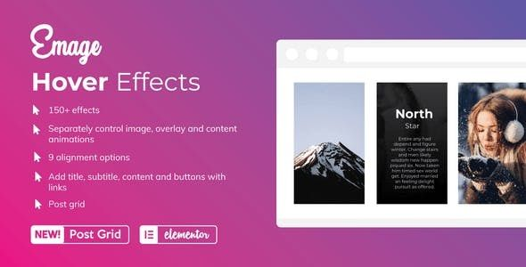 How Emage works - Image Hover Effects for Elementor