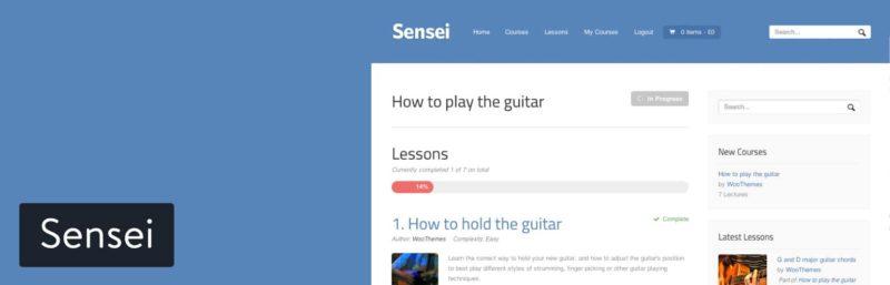 How Sensei LMS works