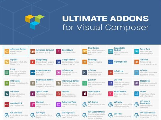 How Ultimate Addons for Visual Composer works
