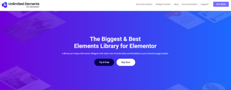 How Unlimited Elements for Elementor works