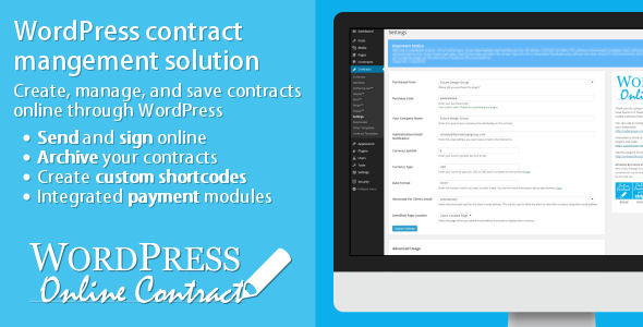 How WP Online Contract works