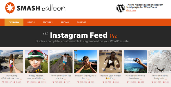Instagram Feed Pro Features