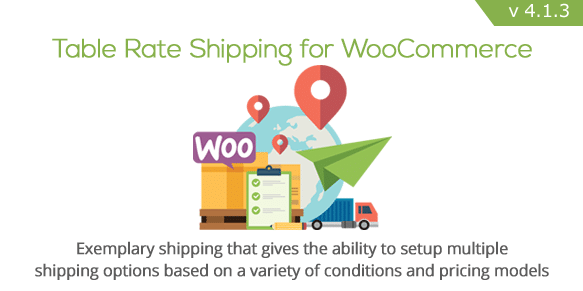 Table Rate Shipping features