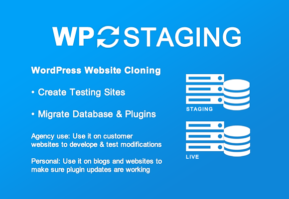 WP Staging Pro features