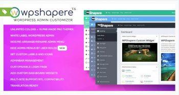 WordPress Admin Theme - WPShapere