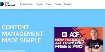ACF Frontend Form Element Pro