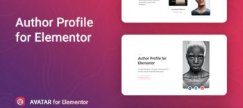 Avatar - Author Box for Elementor