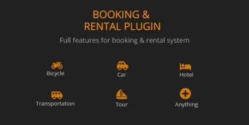 BRW - Booking Rental Plugin WooCommerce