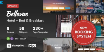 Bellevue - Hotel + Bed and Breakfast Booking Calendar Theme
