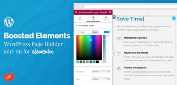 Boosted Elements - Builder Add-on for Elementor