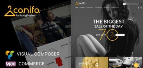 Canifa - Fashion Responsive WooCommerce Theme
