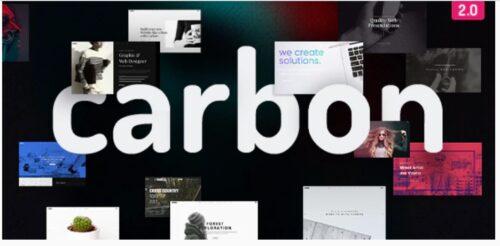 Carbon - Clean Minimal Multipurpose Theme