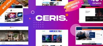 Ceris v1.4.1 - Magazine & Blog WordPress Theme