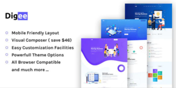 Digee - Digital Marketing Agency WordPress Theme
