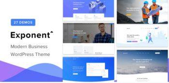 Exponent - Modern Multi-Purpose Business Theme