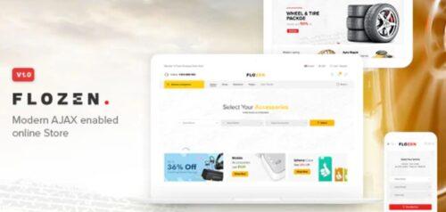 Flozen - WooCommerce AJAX WordPress Theme