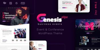 GenesisExpo - Business Events & Conference Theme