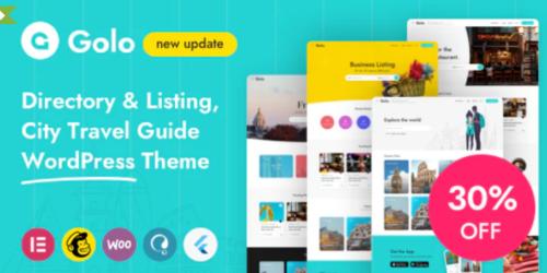 Golo - City Guide WordPress Theme