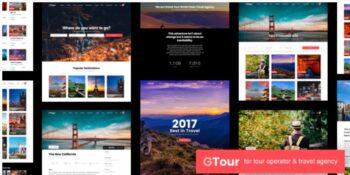 Grand Tour - Tour Travel Wordpress Theme