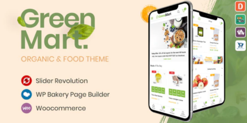 GreenMart - Organic & Food WooCommerce WordPress Theme