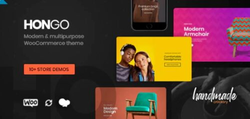 Hongo Modern & Multipurpose WooCommerce WordPress Theme