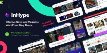 InHype - Blog & Magazine WordPress Theme