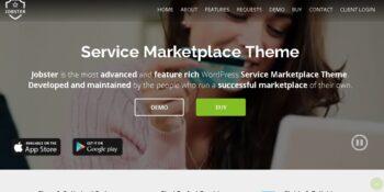 Jobster - Service Marketplace WordPress Theme