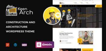 Keenarch - Building & Construction WordPress Theme
