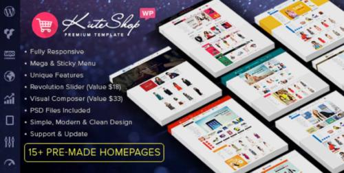 KuteShop - Multipurpose WooCommerce Wordpres Theme