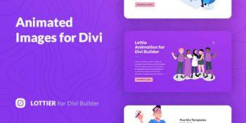 Lottier - Lottie Animated Images for Divi Builder