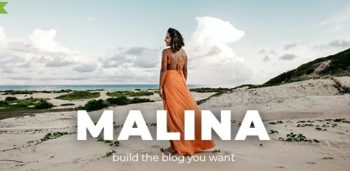 Malina v2.1.1 - Personal WordPress Blog Theme