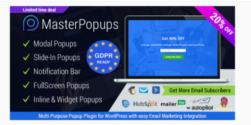 Master Popups - Popup Plugin for Lead Generation