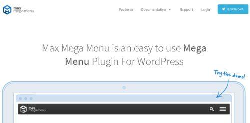 Max Mega Menu Pro Plugin For WordPress