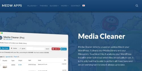 Media Cleaner Pro - Delete unused files from WordPress