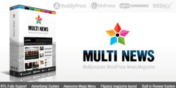 Multinews - Multi-purpose Wordpress News, Magazine