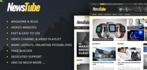 NewsTube- Magazine Blog & Video