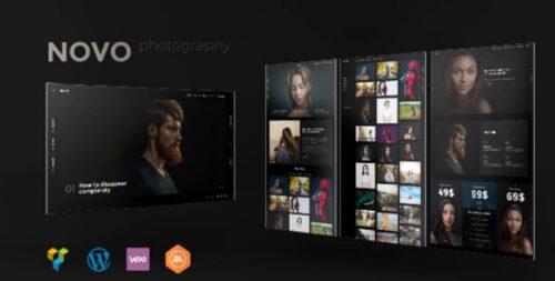 Novo - Photography WordPress Theme