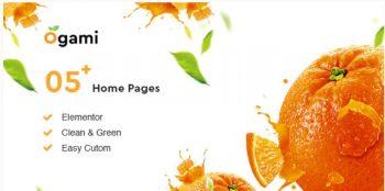 Ogami - Organic Store & Bakery WordPress Theme