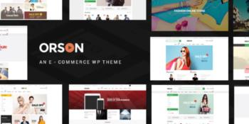 Orson - Innovative Ecommerce WordPress Theme