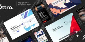 Ottro v1.0.5 - Portfolio & MultiPurpose WordPress