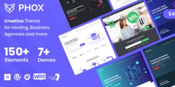 Phox- Hosting WordPress & WHMCS Theme