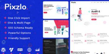 Pixzlo - Creative Theme for Professionals